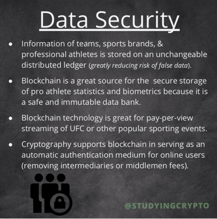 Data security in blockchain